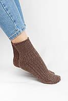 Женские носки FAMO Носочки Лэйт коричневые 35-39 (9021)