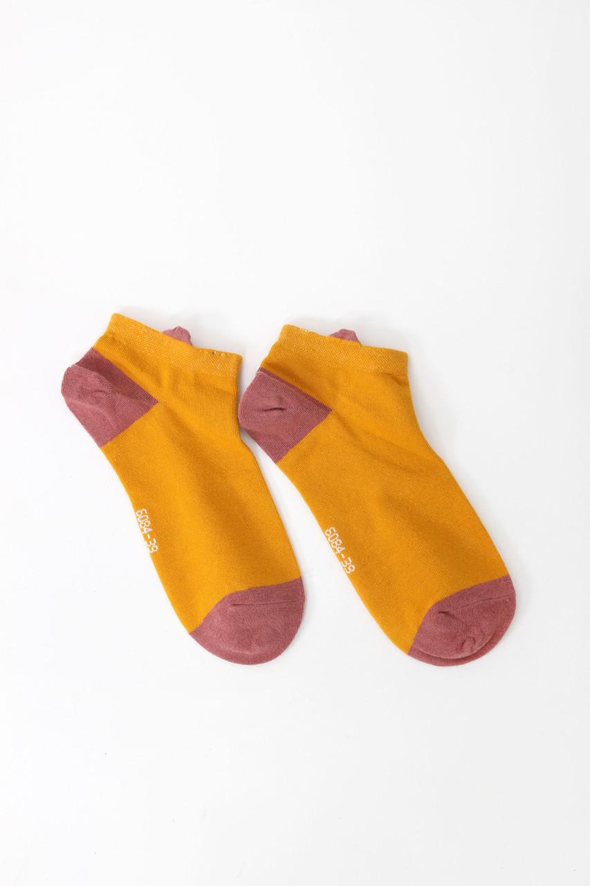 Женские носки FAMO Носочки Люче желтые 36-39 (V280-1)
