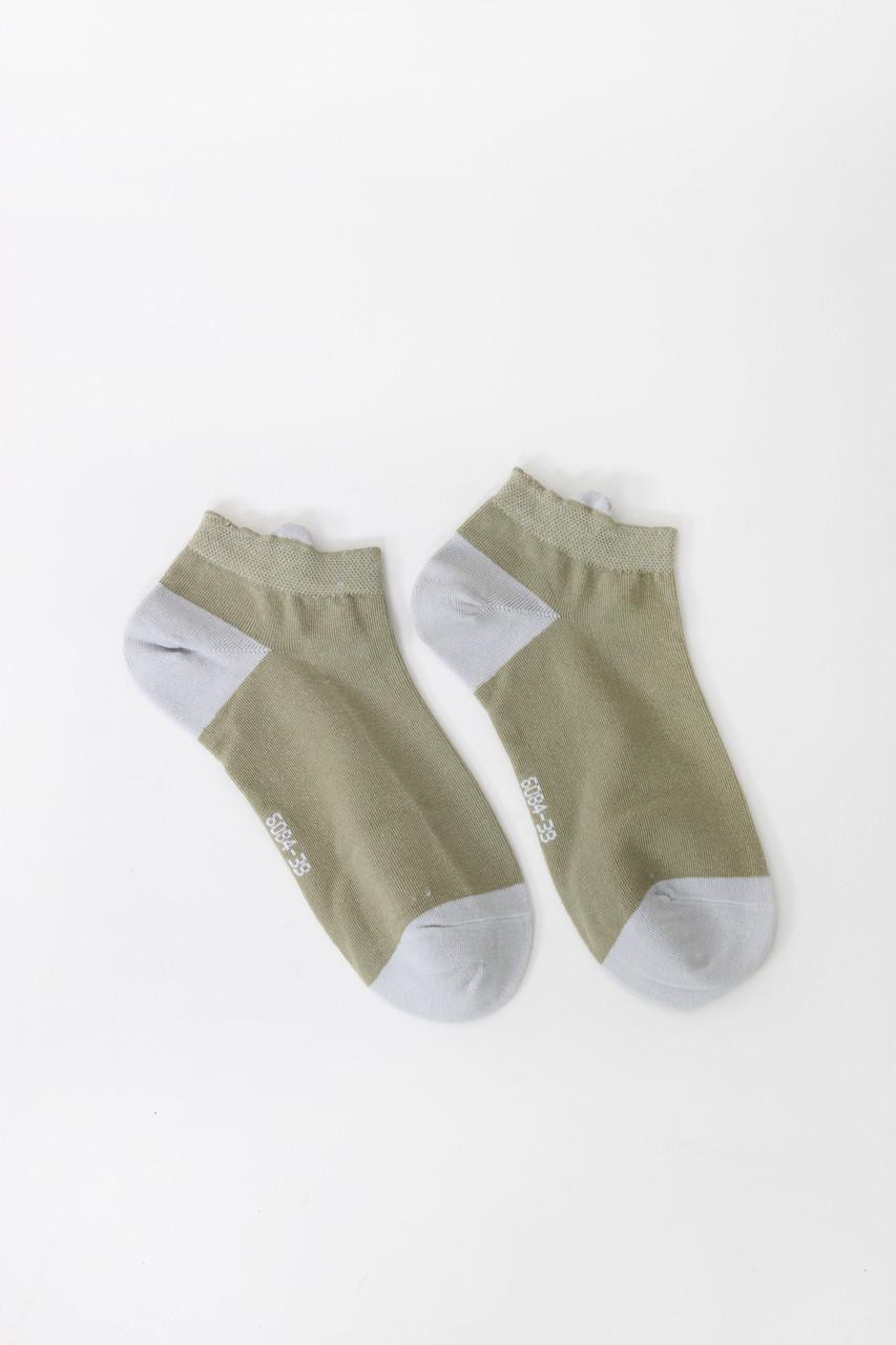 Женские носки FAMO Носочки Люче зеленые 36-39 (V280-1)