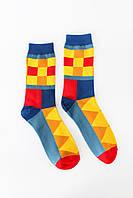 Женские носки FAMO Носочки Марли желтый+красный 36-41 (NF-2005)