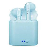 Бездротові навушники TWS i7 mini (Блакитний)