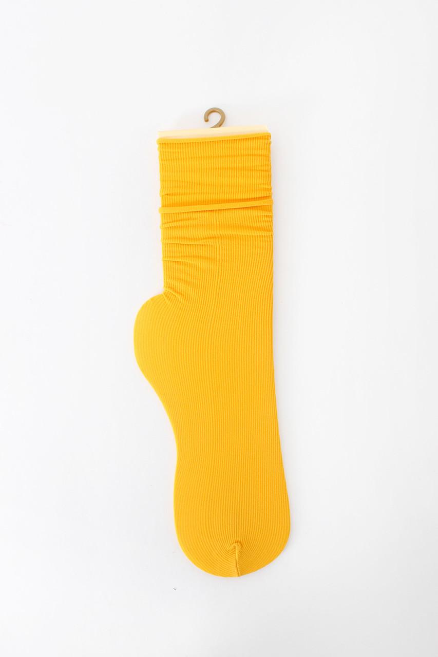 Женские носки FAMO Носочки Пег желтый Free size (NF-2013-39)
