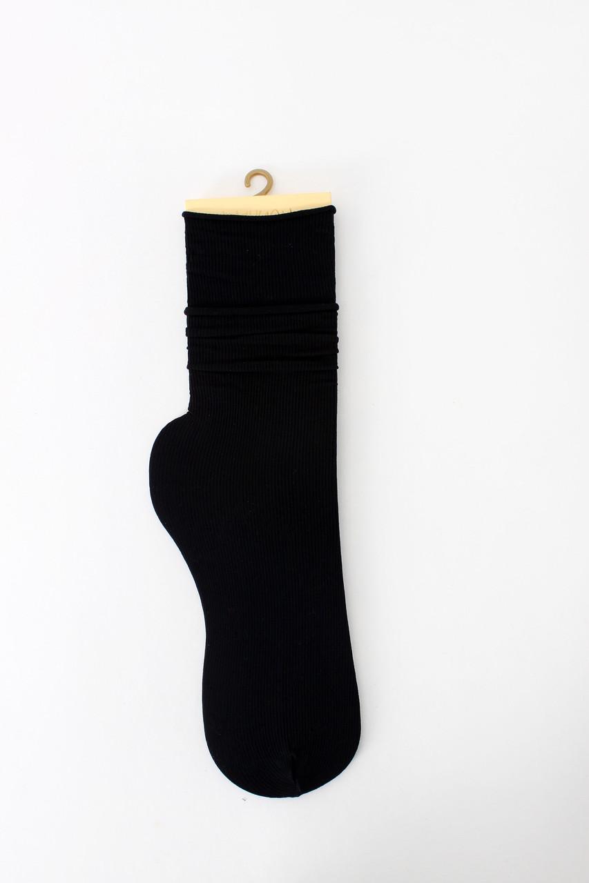 Женские носки FAMO Носочки Пег черный Free size (NF-2013-39)