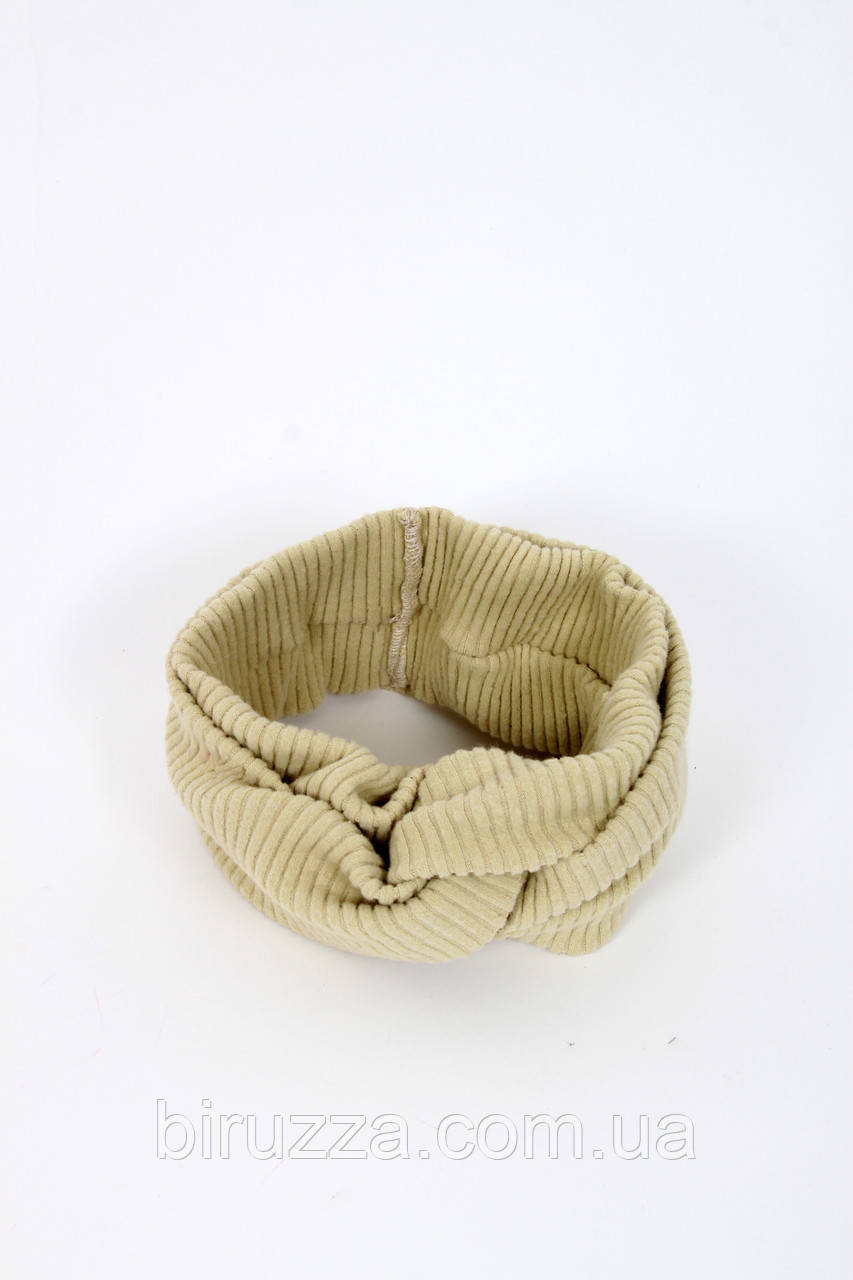 Повязка на голову - тюрбан FAMO Повязка на голову Кембл оливковая One size