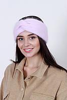 Повязка на голову - тюрбан FAMO Повязка на голову Лэйли розовая One size