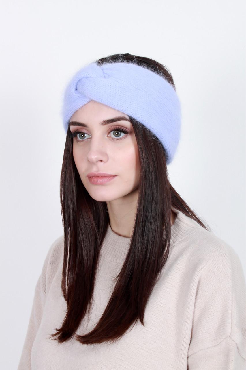 Повязка на голову - тюрбан FAMO Повязка на голову Лэйли светло-лиловая One size