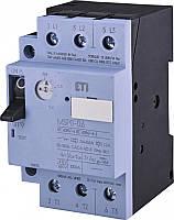 ETI, 4646621, Авт. выключатель защиты двигателя MSP0-2, 4 (0, 75 kW, 1.6-2.4A)