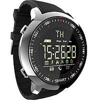 Смарт часы Lokmat MK 18 черные водонепроницаемые умные часы SmartWatch