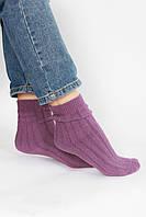 Женские носки FAMO Носочки Тиана лиловые 37-41 (7259)