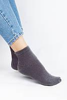 Женские носки FAMO Носочки Тонг графитовые 36-40 (Shk212)