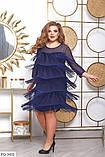 Праздничное женское платье большого размера  48,50,52,54, фото 2
