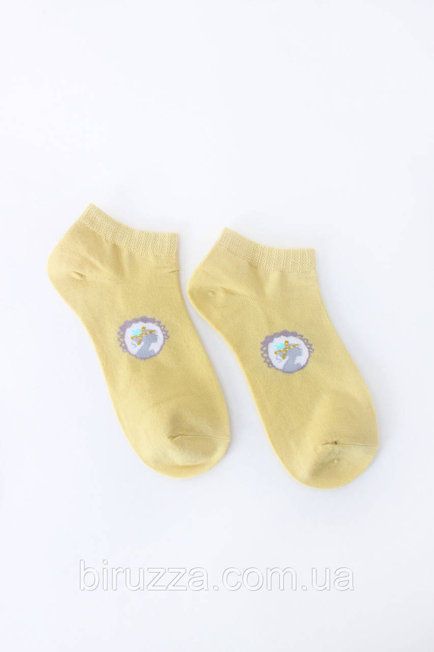 Женские носки FAMO Носочки Хелен желтый 36-39 (NF-2002-40)