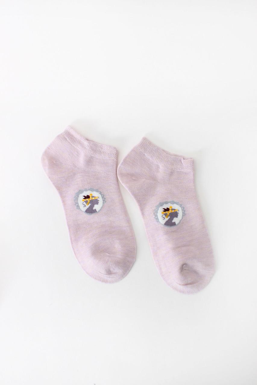Женские носки FAMO Носочки Хелен лиловый 36-39 (NF-2002-40)