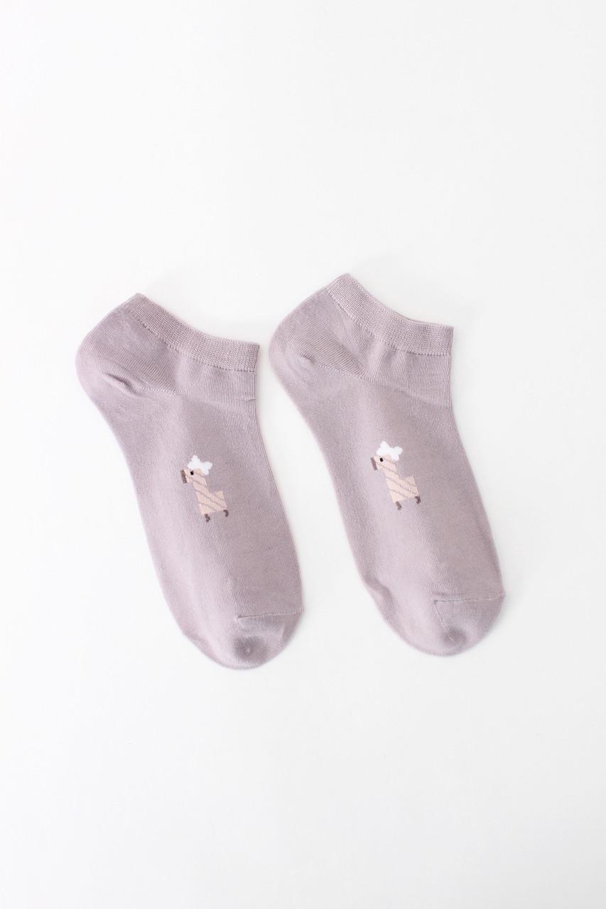 Женские носки FAMO Носочки Хонг лиловый 36-39 (NF-2002-8)