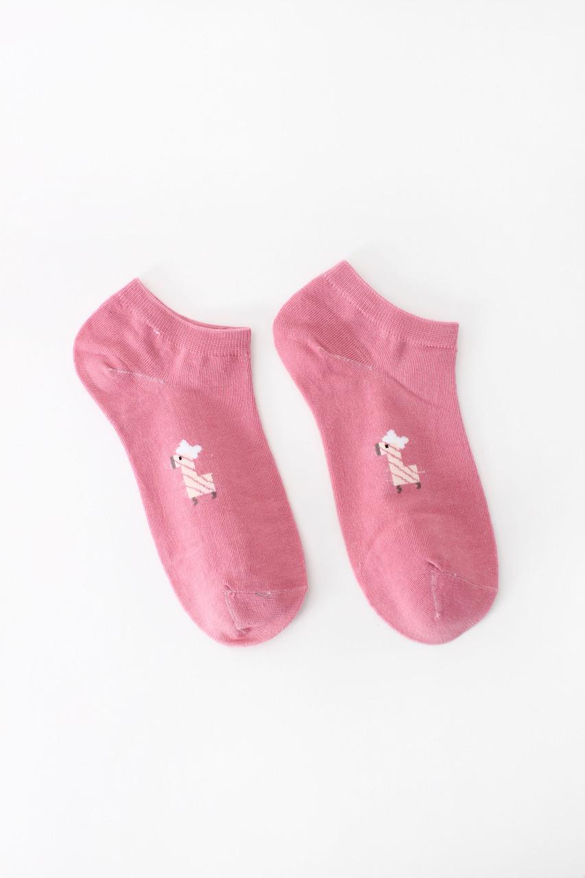 Женские носки FAMO Носочки Хонг розовый 36-39 (NF-2002-8)