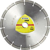 Диск алмазный отрезной Klingspor DT 350 U Extra (230x22.23 мм) (336219)