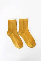 Женские носки FAMO Носочки Шерри желтый 36-38 (#8291)
