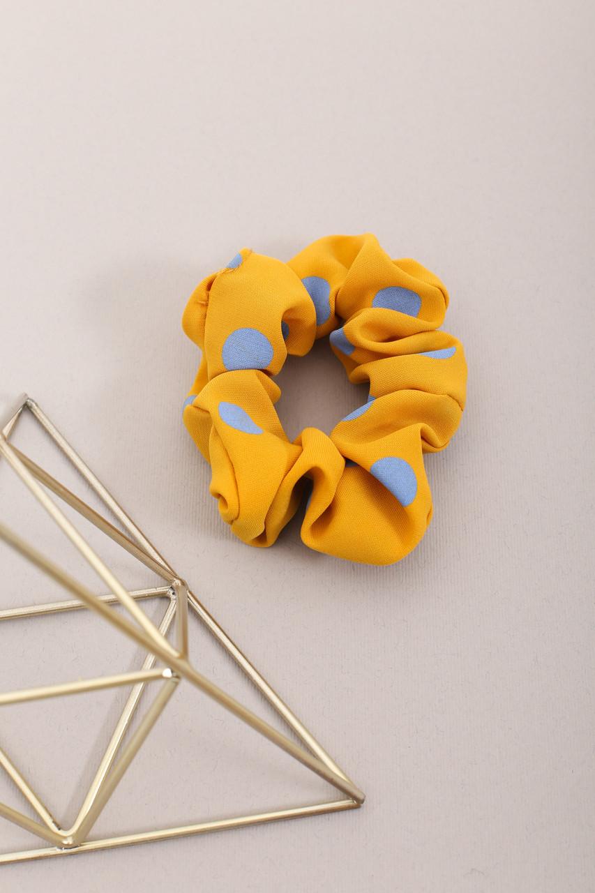 Резинка для волос FAMO Резинка Мэйви желтая Длина 10(см)/ Диаметр 24(см)