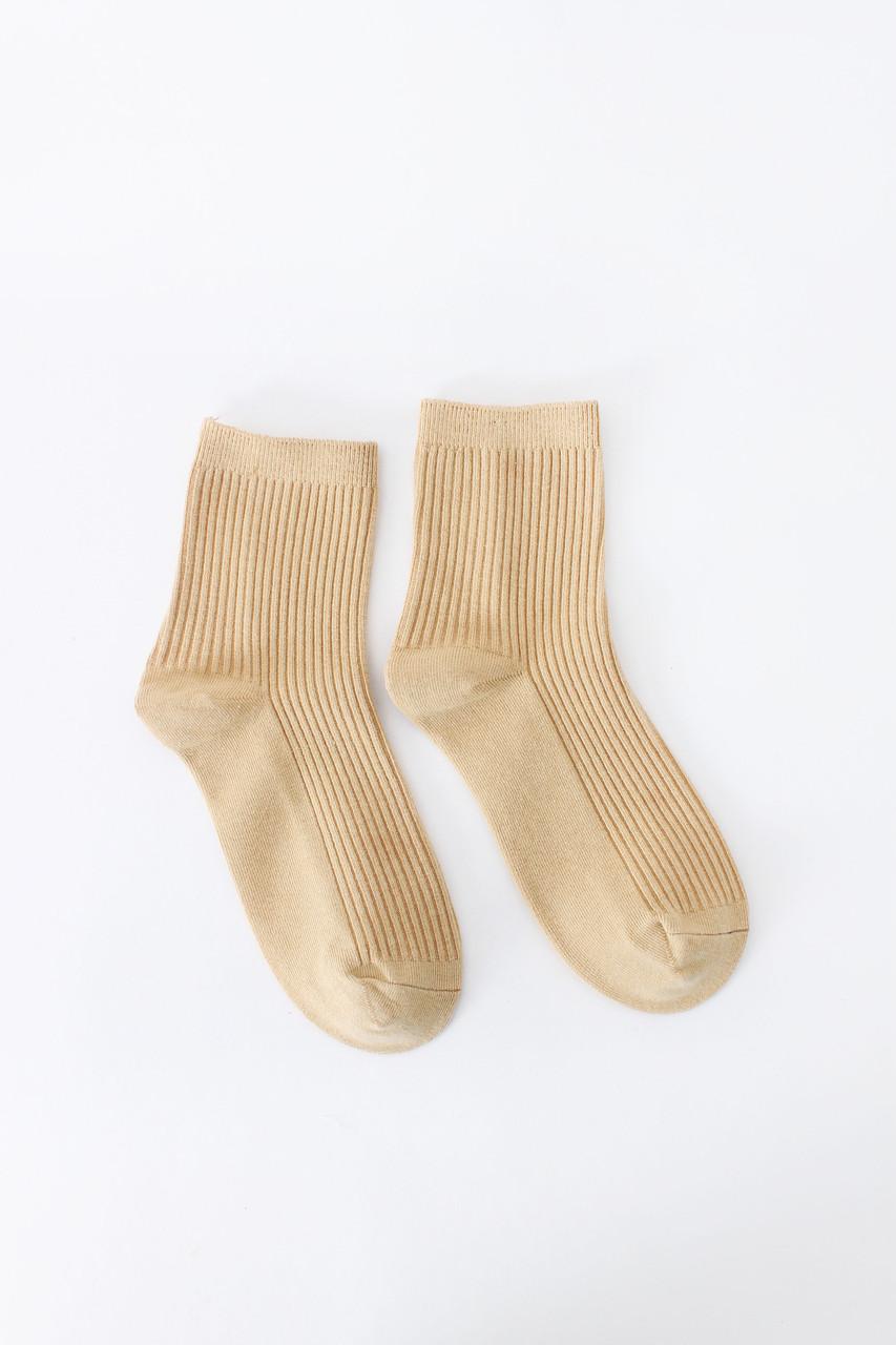 Женские носки FAMO Носочки Шерри молочный 36-38 (#8291)