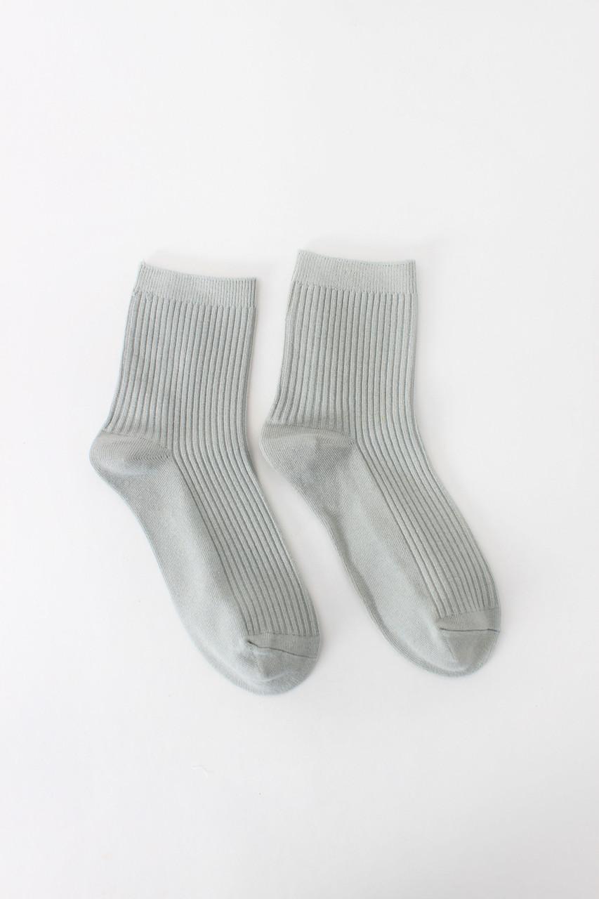 Женские носки FAMO Носочки Шерри серый 36-38 (#8291)