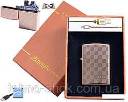 Електроімпульсна запальничка HONGLU (USB) №4777-1