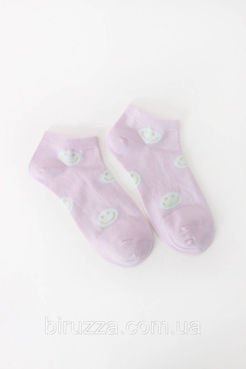 Женские носки FAMO Носочки Энди лиловый 36-39 (NF-2002-11)