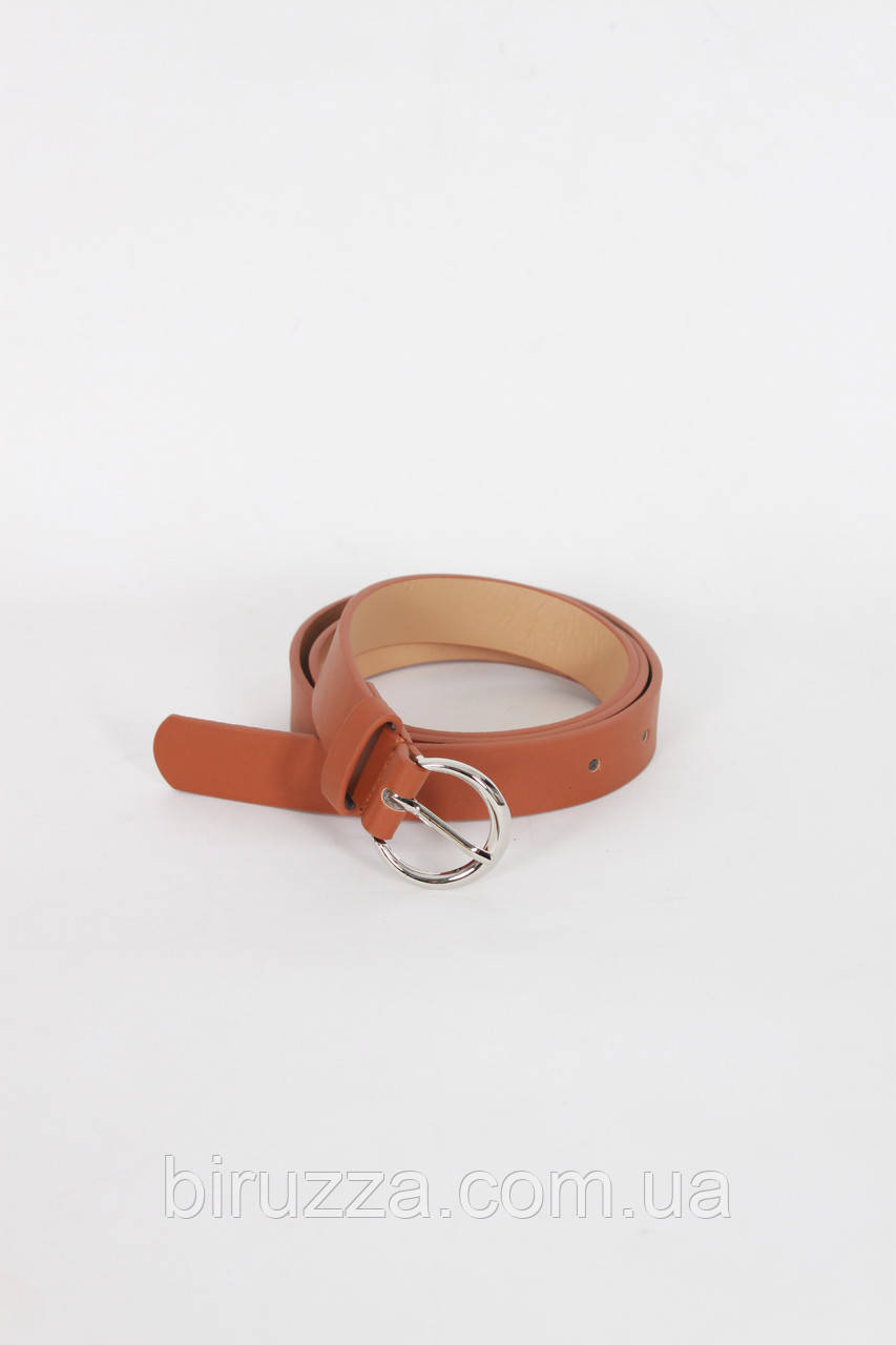Ремень FAMO Фэнси коричневый Длина 106(см)/ Ширина 2.2(см) (REM-43)