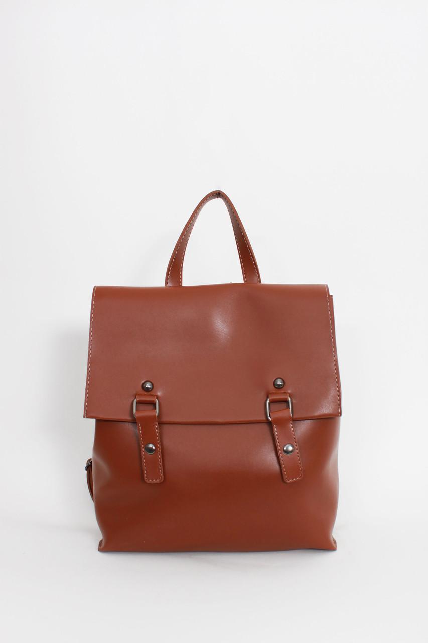 Рюкзак FAMO Санина коричневый 28*42*10 (20-53)