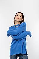 Кофты, свитшоты FAMO Свитер Мэрейн синий XS-M (8885)