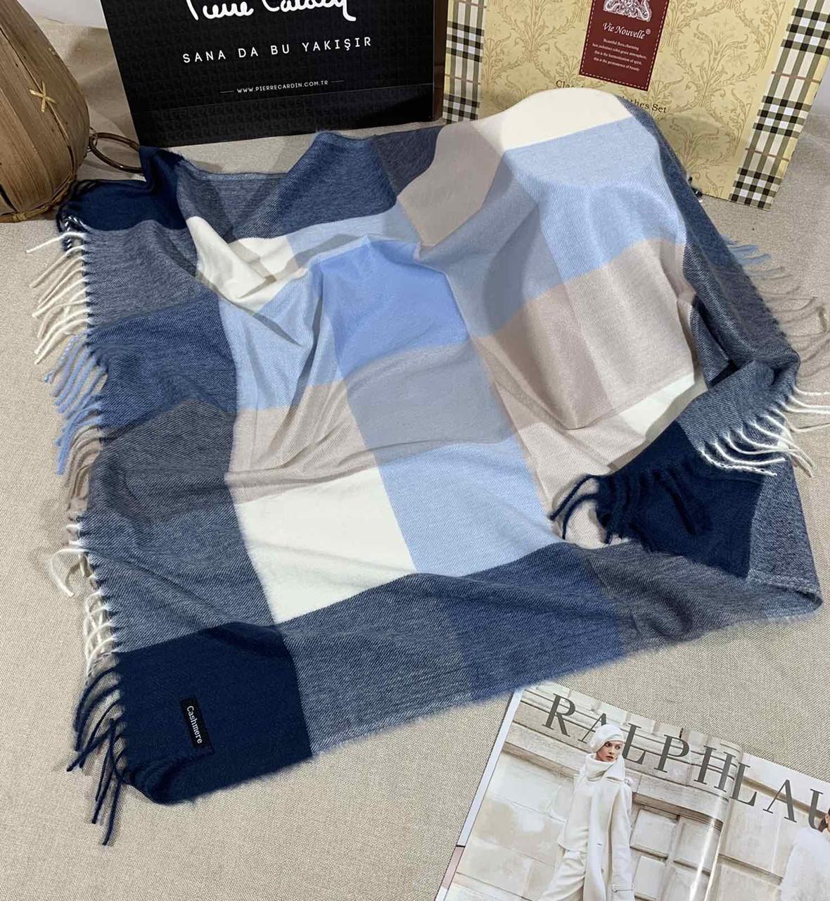 Кашемировый теплый платок Cashmere 213022
