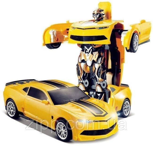 """Робот-трансформер на радиоуправлени JAKI MIGHTY   Машинка-трансформер """"Jaki Mighty""""   Робот-трансформер"""