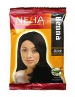 Хна для волос Neha Henna Black черная, 20 г.