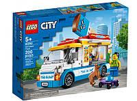 Конструктор лего сити LEGO City Great Vehicles Грузовик мороженщика 60253