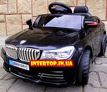 Детский электромобиль BMW БМВ на пульте радиоуправления M 3271EBLR черный