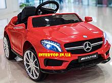 Детский электромобиль на пульте управления Mercedes (Мерседес) GLA 45, M 3995 красный