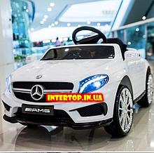 Детский электромобиль на пульте управления Mercedes (Мерседес) GLA 45, M 3995 белый