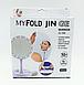 Зеркало для макияжа My Fold Jin Ge Jg-988 с подсветкой, фото 4