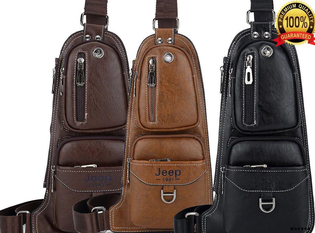 Сумка мужская JEEP 777 | Джип, бананка, рюкзак