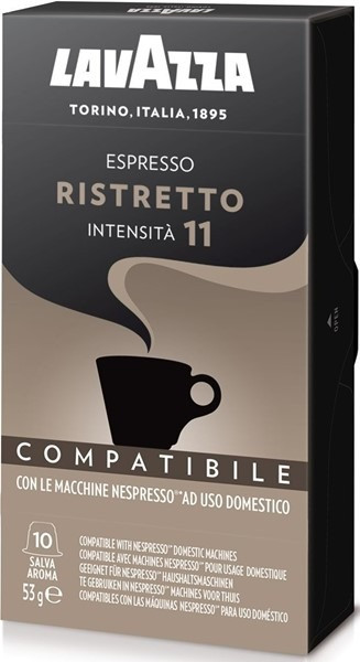 Кофе в капсулах Nespresso Lavazza Ristretto  10шт