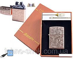 Електроімпульсна запальничка HONGLU (USB) №4777-3
