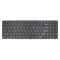 Клавиатура ноутбука PowerPlant Lenovo IdeaPad 100-15IBD черный, черный фрейм (KB310623)