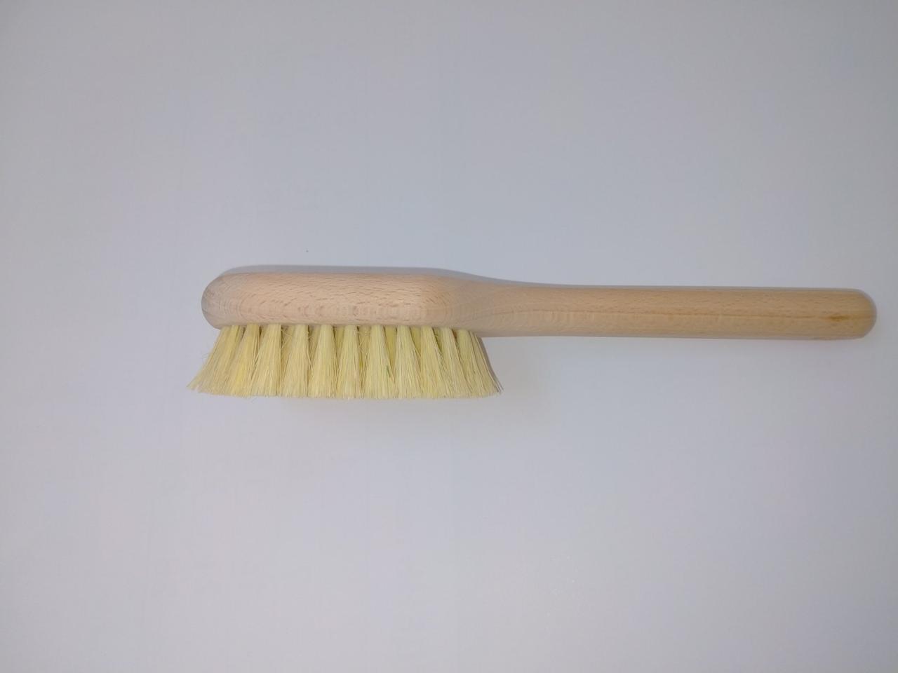 Щетка для сухого массажа щетина тампико (кактусовое волокно) дерево бук