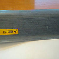 Плинтус напольный ИДЕАЛ Комфорт 55мм Синий . пластиковый с кабель каналом, мягкими краями.