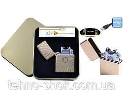 Електроімпульсна запальничка JIN LUN (USB) №4706-4