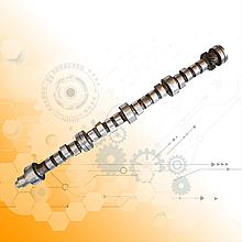 Вал газорозподільного механізму ГАЗ-51/52(распредвал)