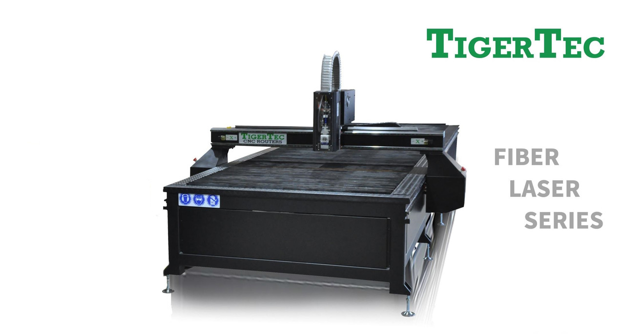Верстат лазерной різки металу Tigertec TRF1560 1500x6000 мм, джерело RAYCUS 2000 Вт