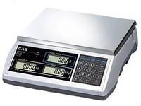 Торговые (фасовочные) электронные весы CAS ER (EM-R) с аккумулятором