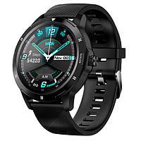 Смарт часы CACGO K 15 черные умные часы SmartWatch