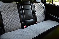 Накидки на сиденья автомобиля задние, серый, фото 1