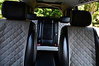 Накидки на сиденья автомобиля полный комплект, серый, фото 1